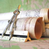 Žemėlapių, topografinių planų spausdinimas